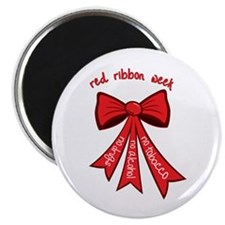 Red Ribbon Week Magnets