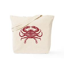 Vintage Crab Tote Bag