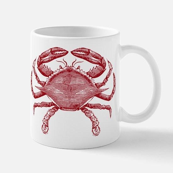 Vintage Crab Mug