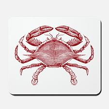 Vintage Crab Mousepad