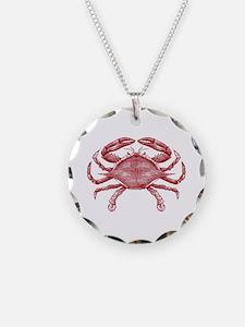 Vintage Crab Necklace