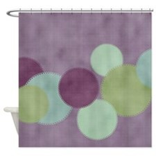 Cute Sage Shower Curtain