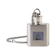 Weighing Flask Necklace
