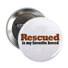 Rescued Breed Button