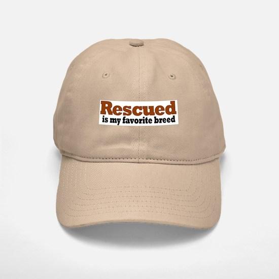 Rescued Breed Baseball Baseball Cap