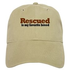 Rescued Breed Baseball Cap