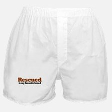 Rescued Breed Boxer Shorts