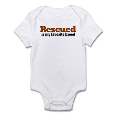 Rescued Breed Infant Bodysuit