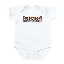 Rescued Breed Onesie