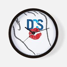 KissFist DCS Wall Clock