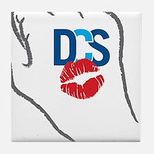 KissFist DCS Tile Coaster