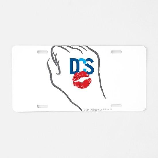 KissFist DCS Aluminum License Plate