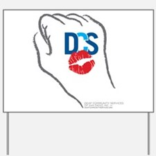 KissFist DCS Yard Sign