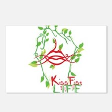 KissFist Life Postcards (Package of 8)