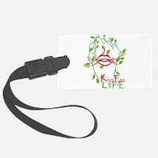 KissFist Life Luggage Tag