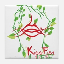 KissFist Life Tile Coaster