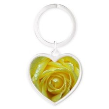Yellow Rose Keychains