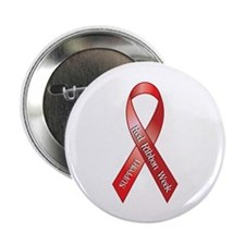 "Support Red Ribbon Week 2.25"" Button (10 pack)"