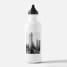 Flat Iron Building Water Bottle