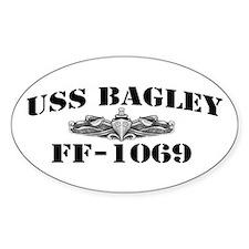 USS BAGLEY Decal