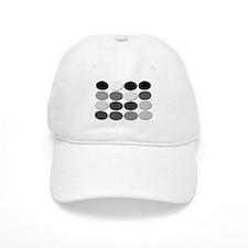 HD DVD Hex Gray Scale Code Baseball Cap
