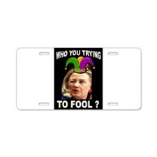 HILLARY JESTER Aluminum License Plate