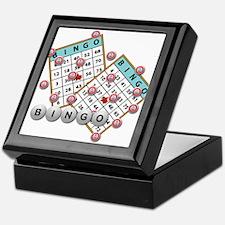 Bingo Cards Keepsake Box