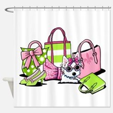 KiniArt Girlie Things Olivia Shower Curtain