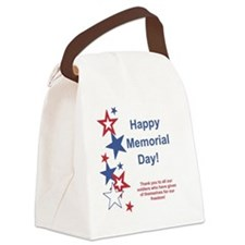 Memorial Day Canvas Lunch Bag