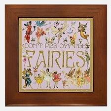 Fairies Framed Tile