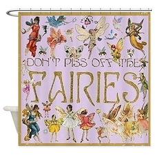Fairies Shower Curtain