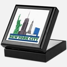 New York City Skyline Keepsake Box