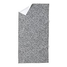 Static Pattern Beach Towel