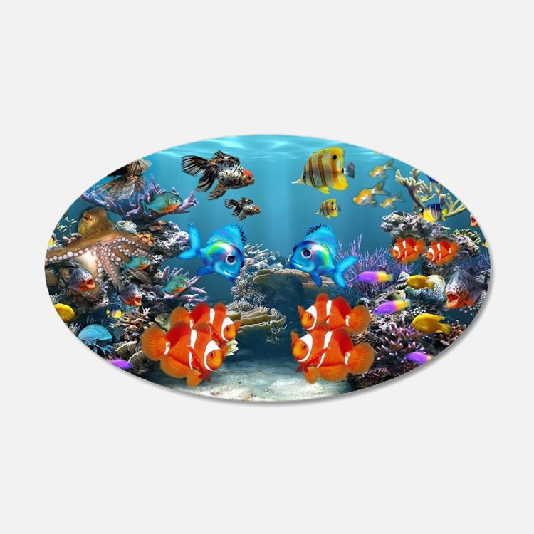 aquarium wall art aquarium wall decor