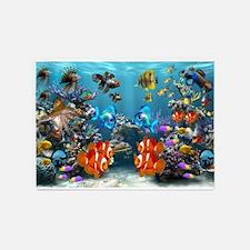 Aquarium 5'x7'Area Rug