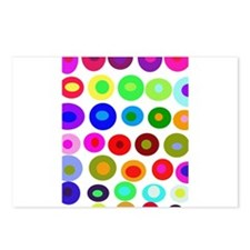 Dots and Circles Postcards (Package of 8)