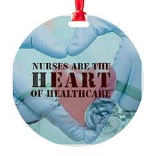 Nurses hearthealthcare Ornament
