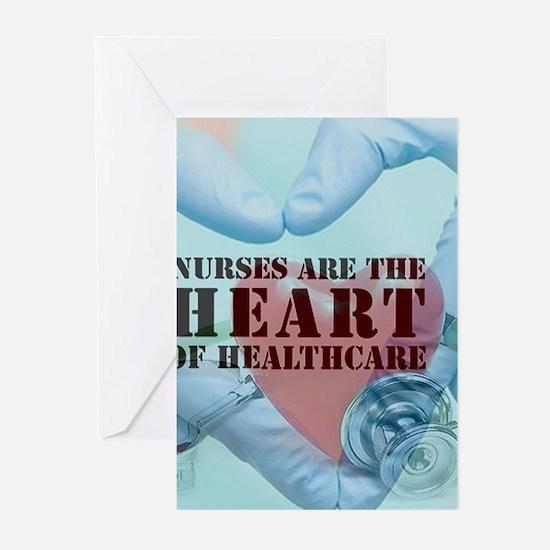 Nurses hearthealthcare Greeting Cards