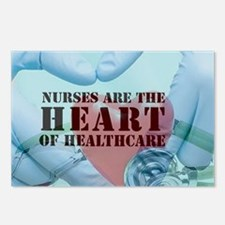 Nurses hearthealthcare Postcards (Package of 8)