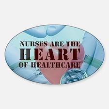Nurses hearthealthcare Decal