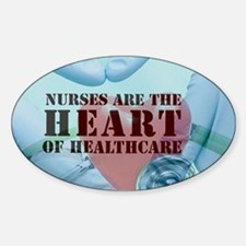 Nurses hearthealthcare Decal