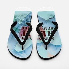Nurses hearthealthcare Flip Flops