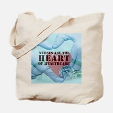 Nurses Hearthealthcare Tote Bag