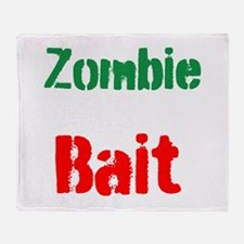 Zombie Bait Throw Blanket
