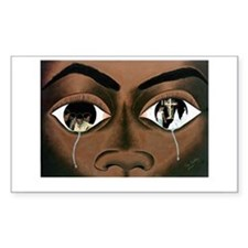Tears of a Black Man Bumper Stickers