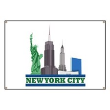 New York City Skyline Banner