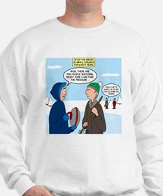 Ice Curling Popularity Sweater