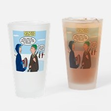 Ice Curling Popularity Drinking Glass