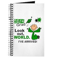 2014 Stick Grad 1.1 Green Journal