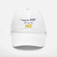 Deaf Pee Baseball Baseball Cap
